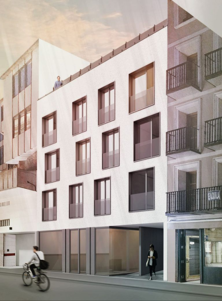 Proyecto Residencial Singular Zuñiga 5 Fachada